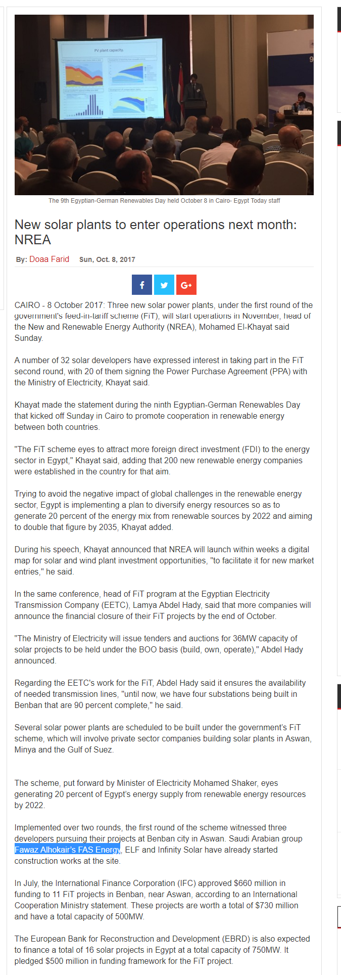 FireShot Capture 441 - New solar plants to enter operations _ - https___www.egypttoday.com_Article.png