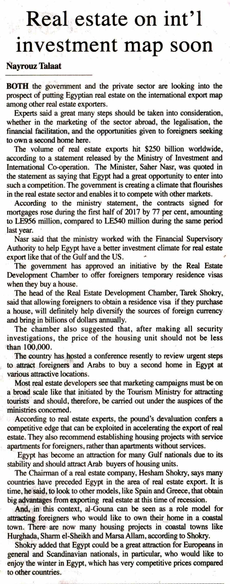 The Egyptian Gazette 9 Nov P.2.jpg