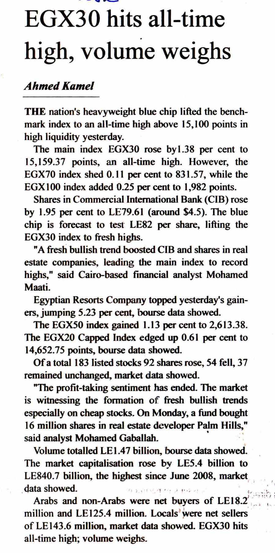 The Egyptian Gazette 10 Jan P.2.jpg