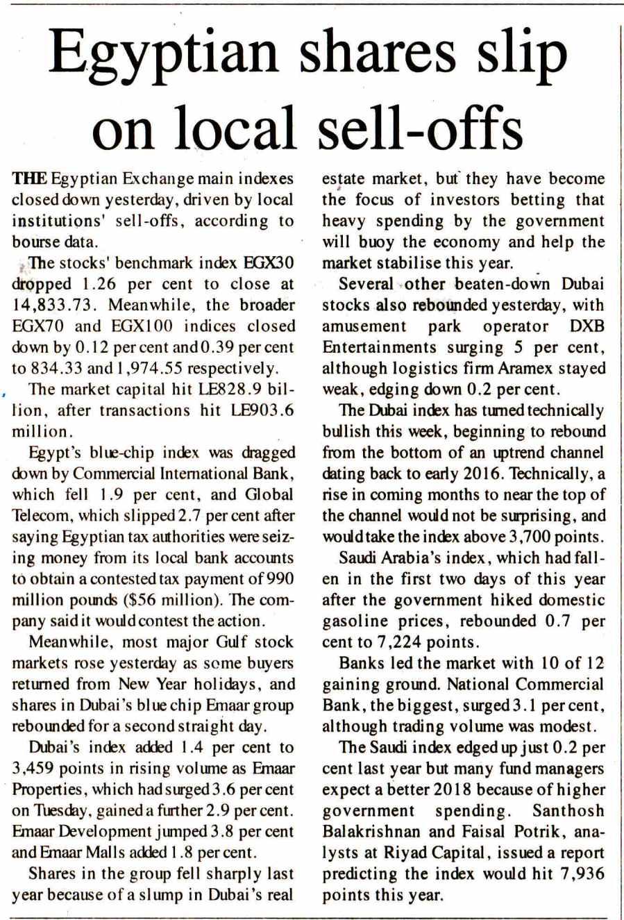 The Egyptian Gazette 4 Jan P.5.jpg